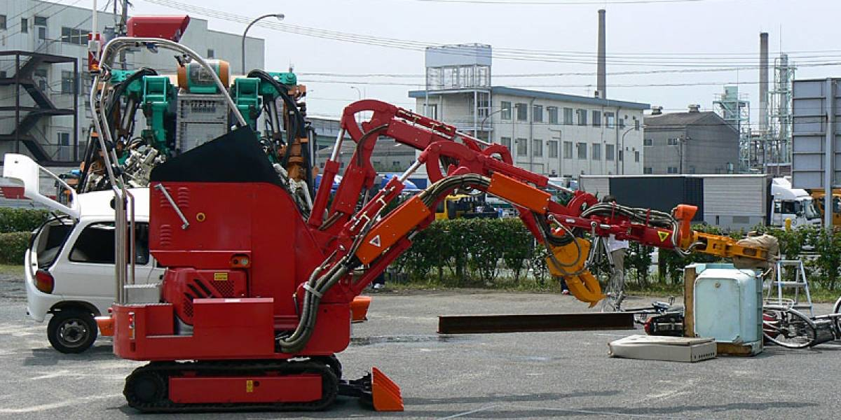 T-53 Enryu, otro ayudante robot para Fukushima