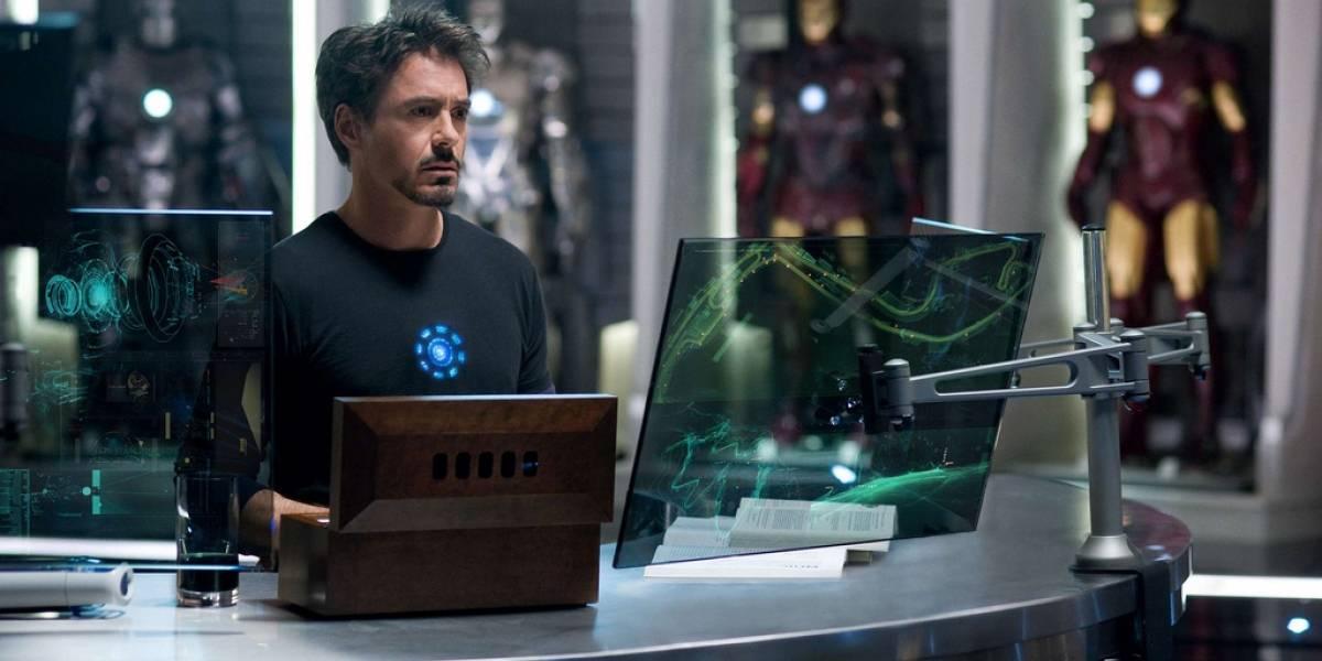 MIT crea pantalla transparente capaz de mostrar información como el smartphone de Iron Man