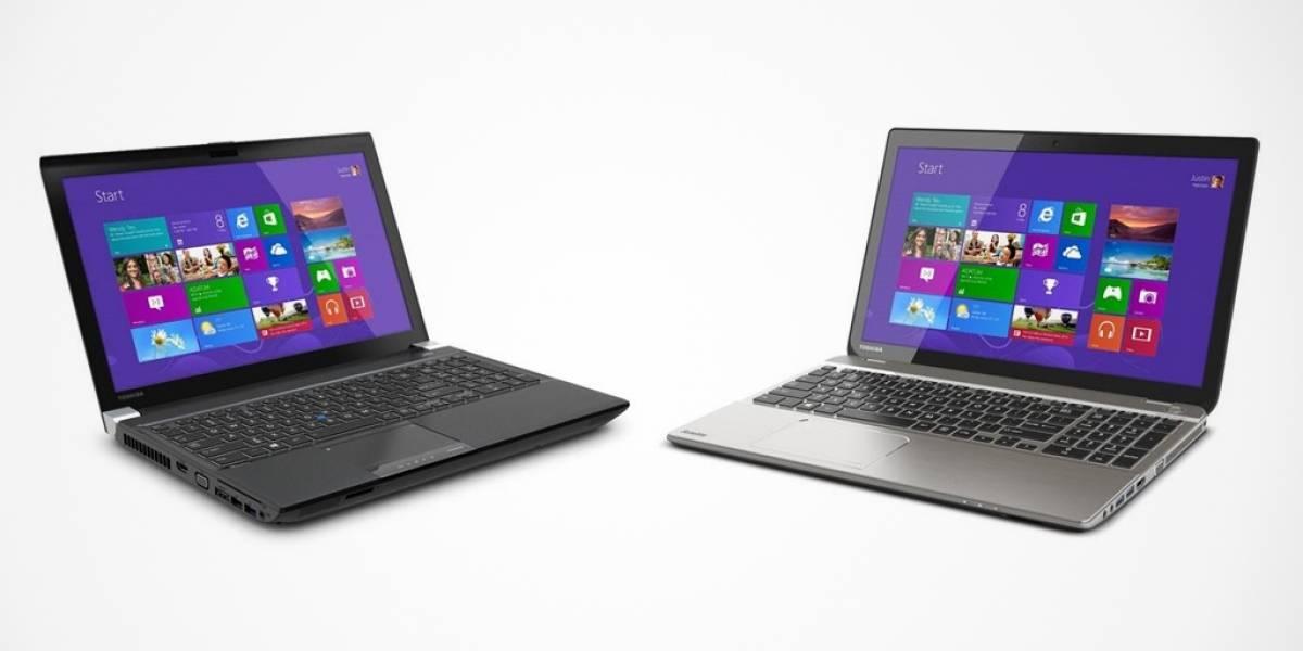 Toshiba lanza laptops con pantallas 4K #CES2014