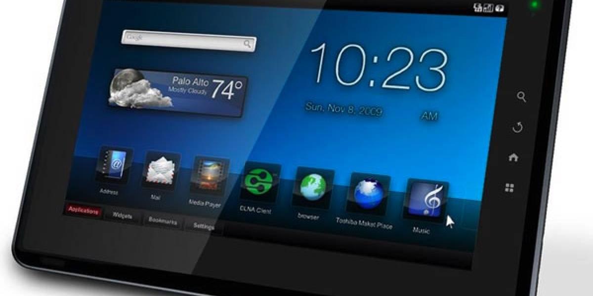 """Toshiba lanza en España su tablet """"Folio 100"""" y presenta portal de aplicaciones"""