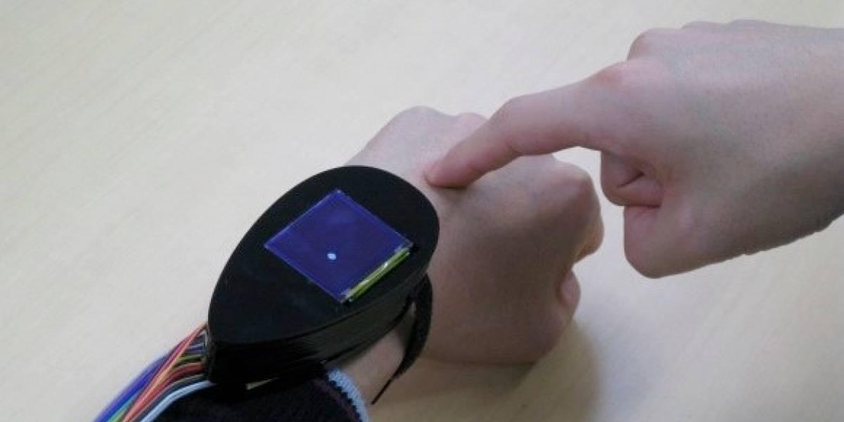Japonés crea prototipo que usa la mano como un trackpad