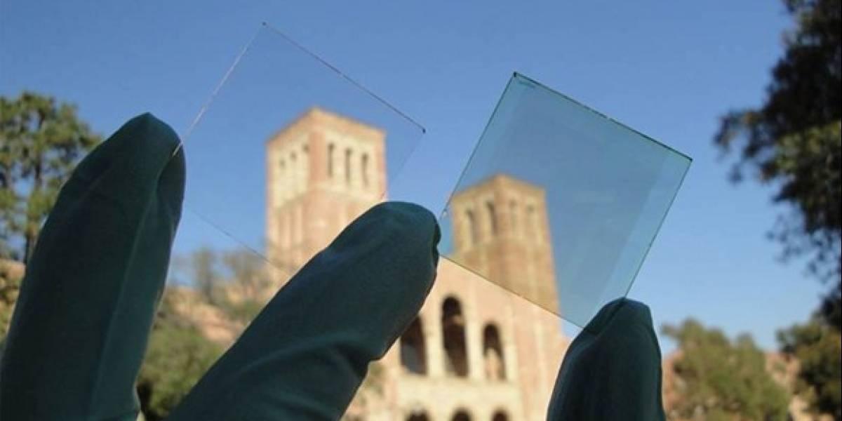 Crean panel solar trasparente que recoge luz infrarroja