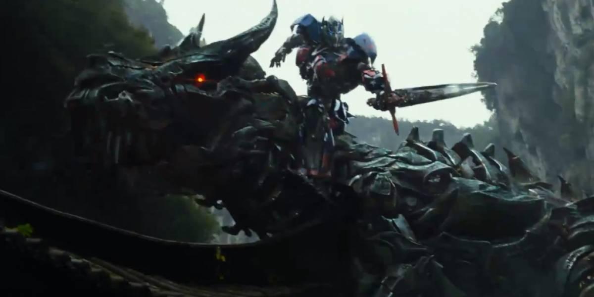 "Primer trailer de ""Transformers: Age of Extinction"" muestra dinosaurios robot"