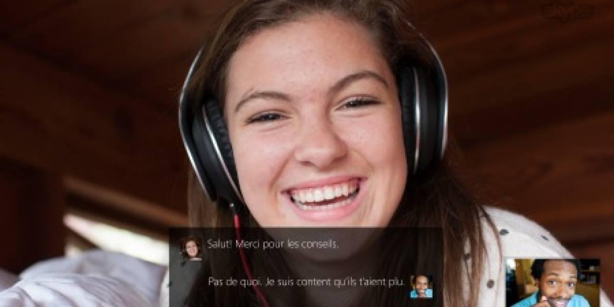 Microsoft integra Skype Translator en Skype para Windows