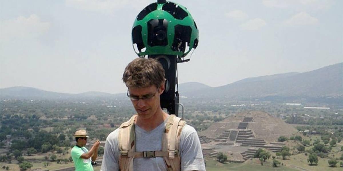 Google recorrerá las ruinas de Teotihuacán con el Street View Trekker