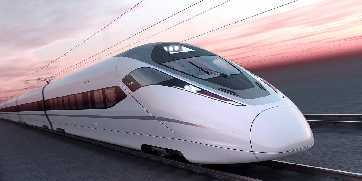 Tren chino rompe récord de velocidad a 420 km/h