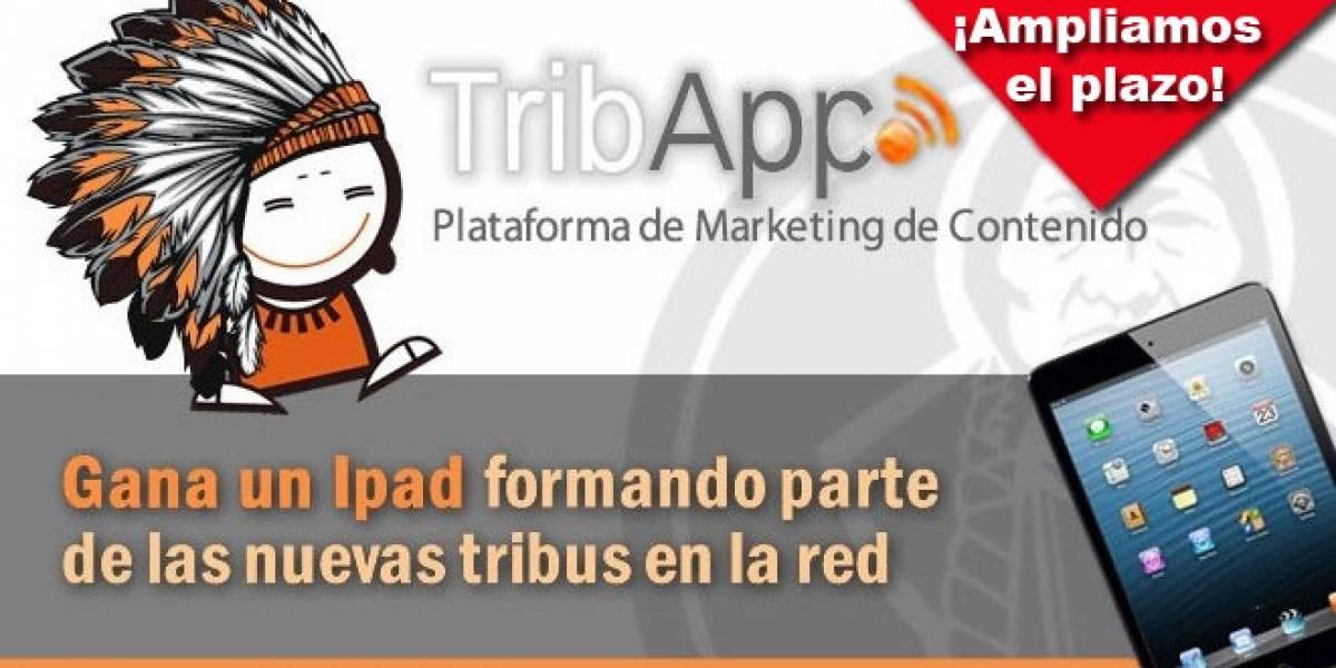 España: Aún puedes unirte a una tribu en Tribapp.com y llevarte un iPad a casa