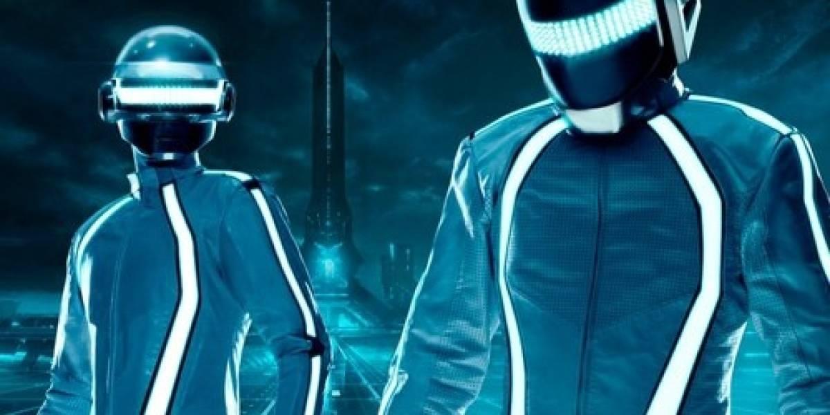 "Primera imagen de Daft Punk al interior del mundo de ""Tron: Legacy"""