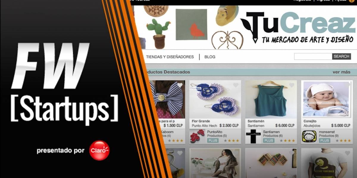 ¿Quieres comprar un objeto con un diseño único? Búscalo en TuCreaz [FW Startups]