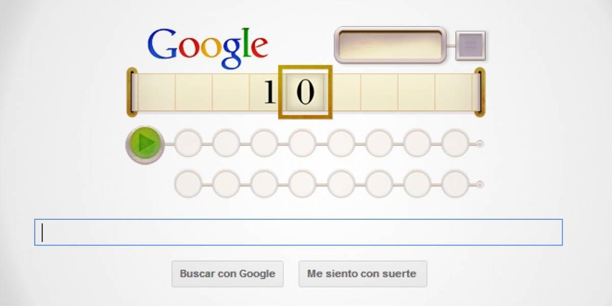 Google homenajea a Alan Turing con una máquina de Turing interactiva