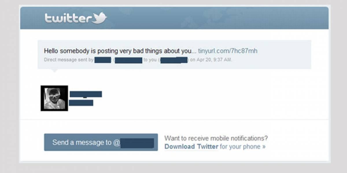 Malware se propaga mediante mensajes directos en Twitter