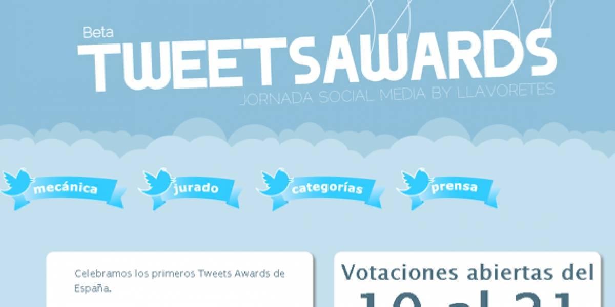 Convocan los primeros Tweets Awards en España