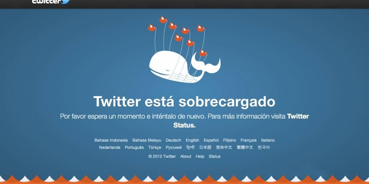 """Twitter revela que eliminó su reconocida imagen del """"Fail Whale"""""""