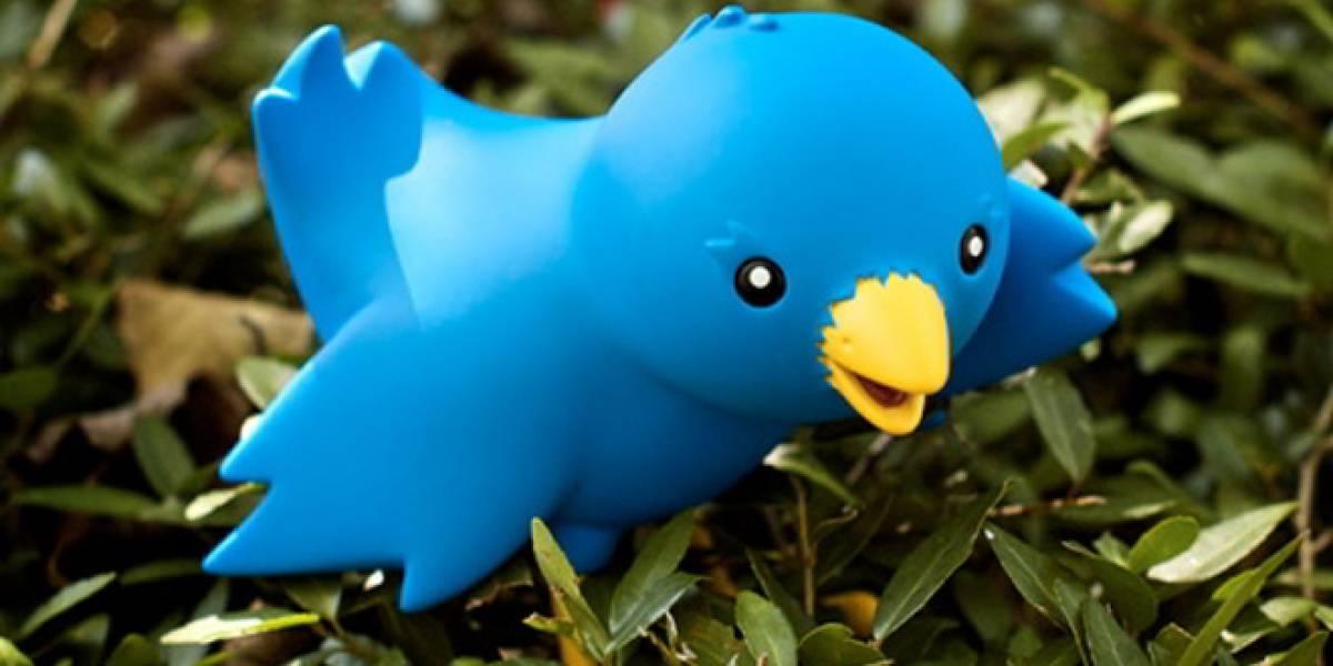 Nuevo diseño de la mascota de Twitter