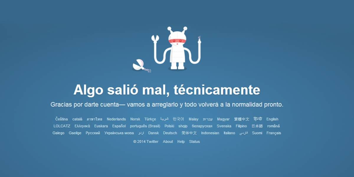 """Twitter se cayó por """"complicaciones inesperadas"""""""