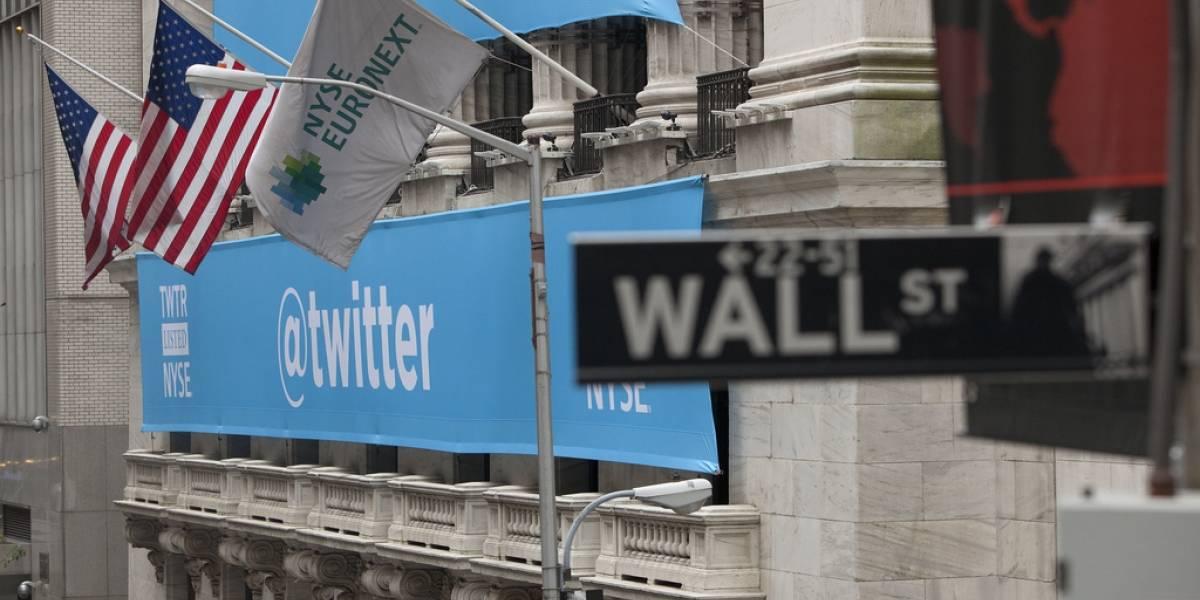Twitter muestra lento crecimiento de usuarios