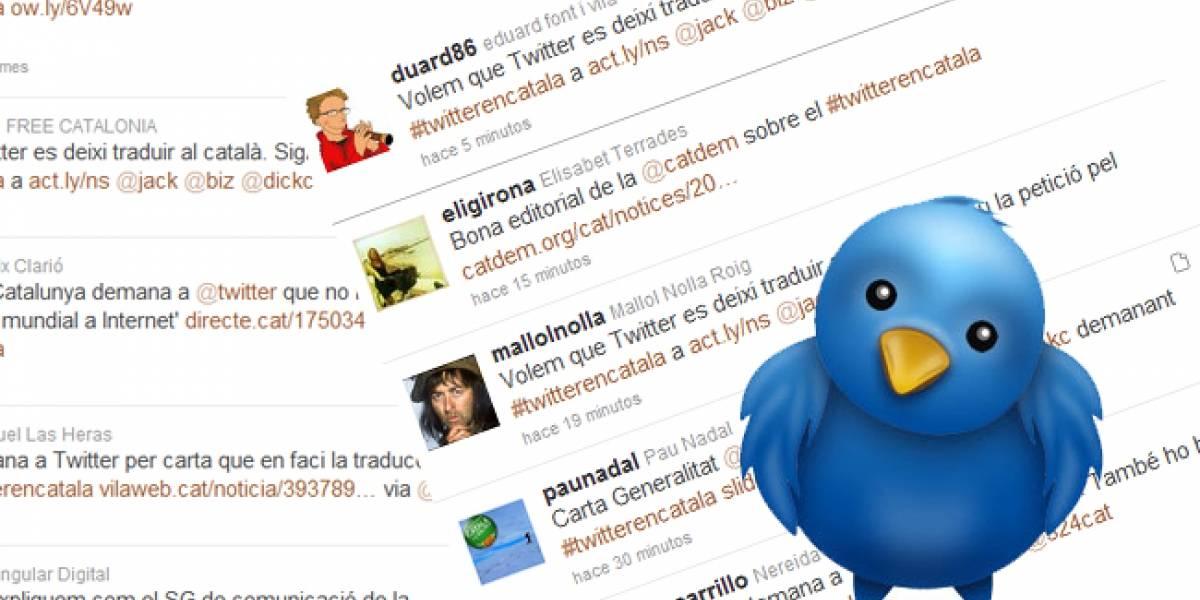 España: Exigen a Twitter una versión en catalán