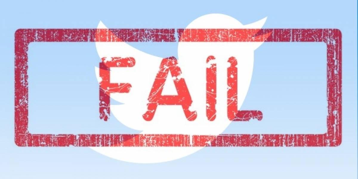 Los usuarios de Twitter son cada vez menos