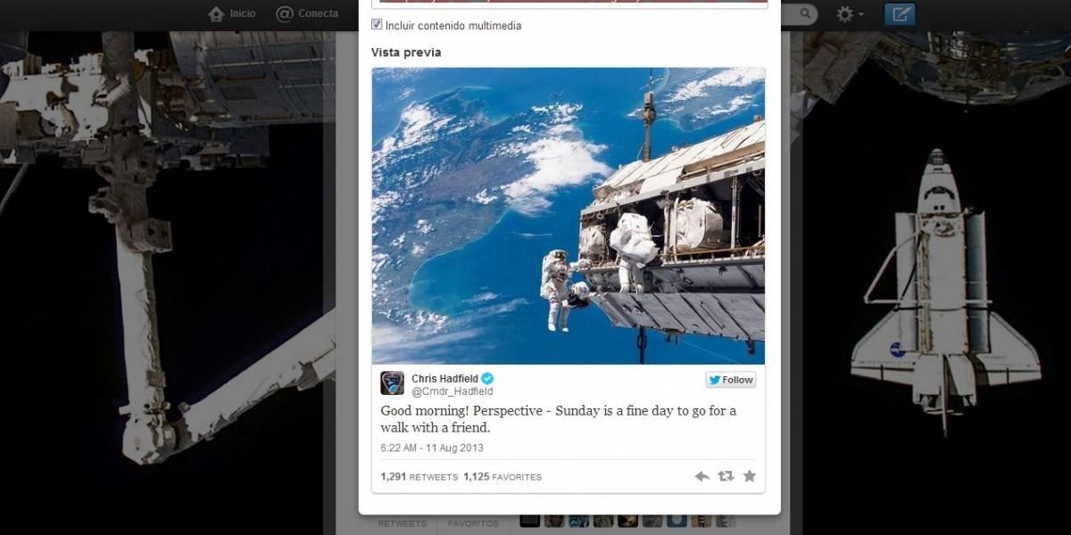 Twitter mejora la presentación de tuits insertados con imágenes