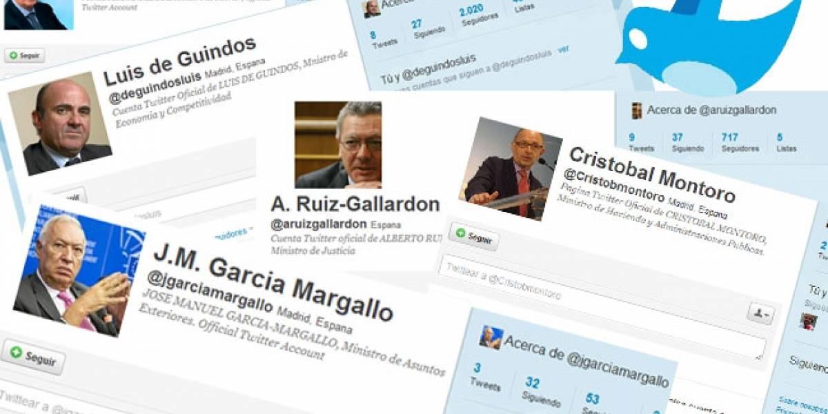 Un periodista suplanta en Twitter a cinco ministros españoles