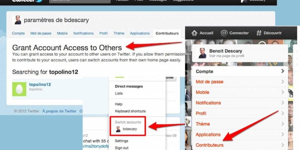 Twitter ya permitiría que varios usuarios gestionen una misma cuenta