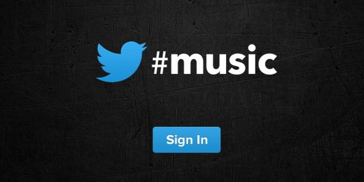 Twitter lanza sitio music.twitter.com que apuntaría a un próximo servicio de música