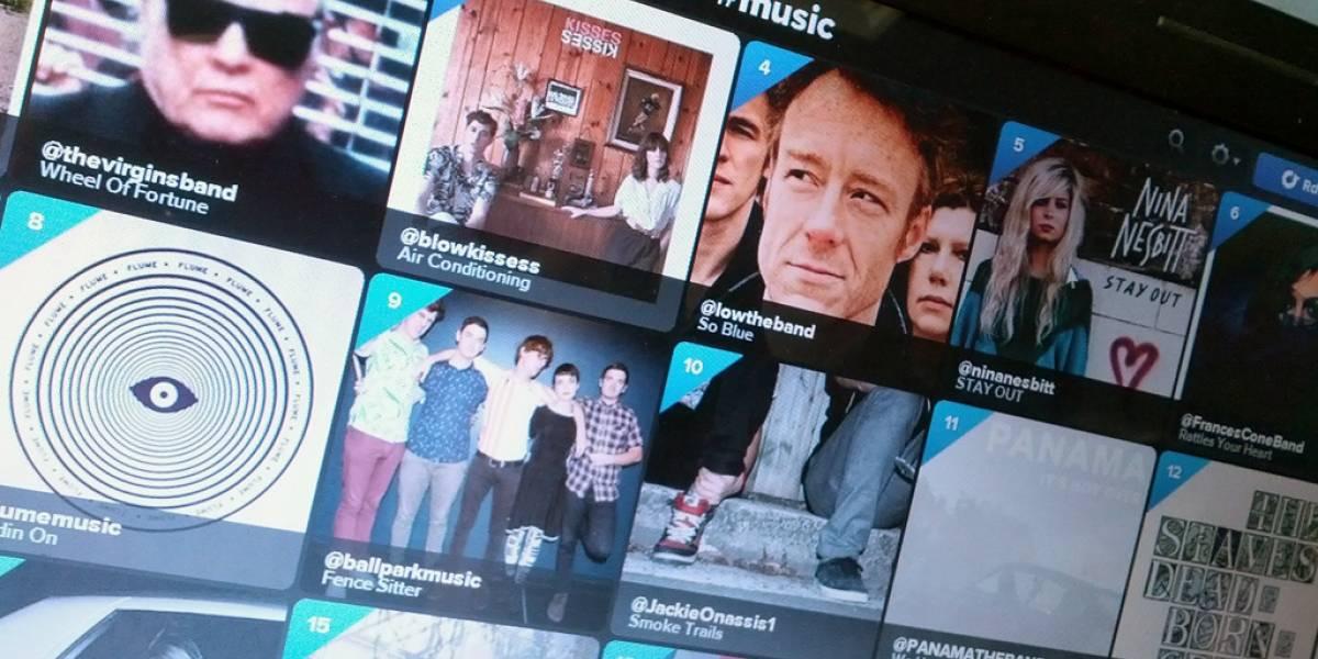 Twitter volverá a acercarse a la música a través de rankings Billboard