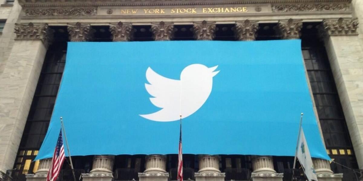 Twitter entra a la bolsa con acciones a USD$26 cada una