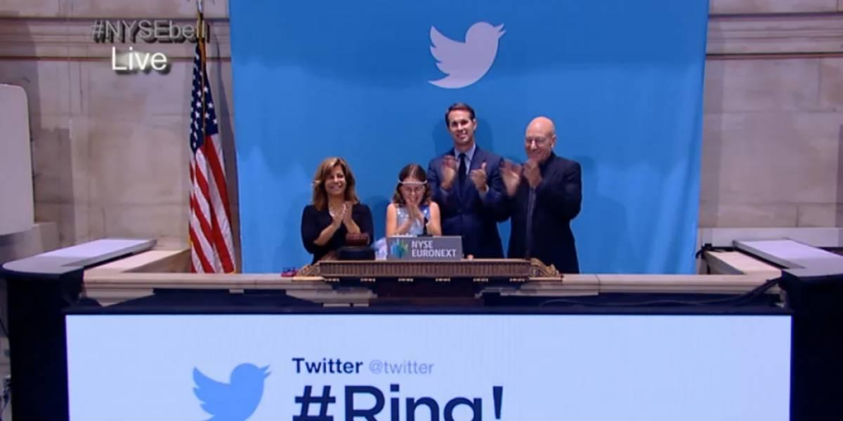 Usuarios hacen sonar la campana de Twitter y acciones suben como la espuma