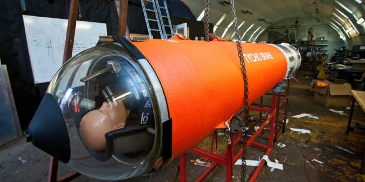 Voluntarios daneses construyen un cohete para mandar un hombre al espacio