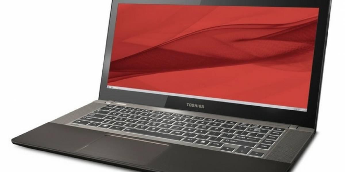 Toshiba presenta dos nuevos Ultrabooks y otros modelos concepto de híbridos