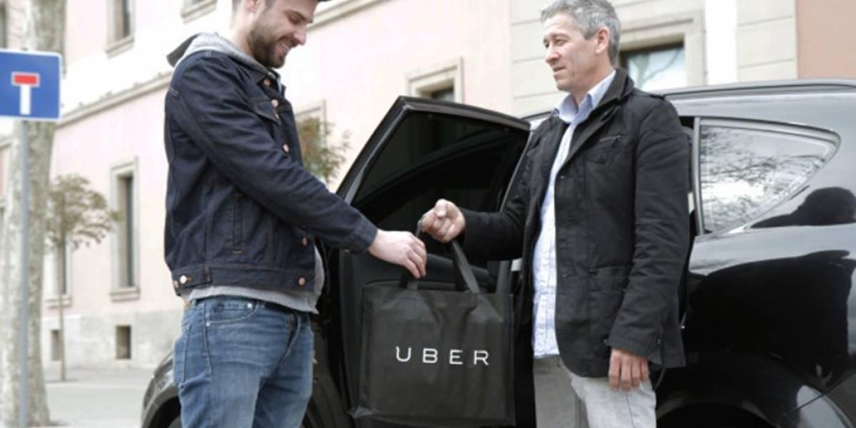 Uber lanza UberEATS en Barcelona, entrega de comida a domicilio