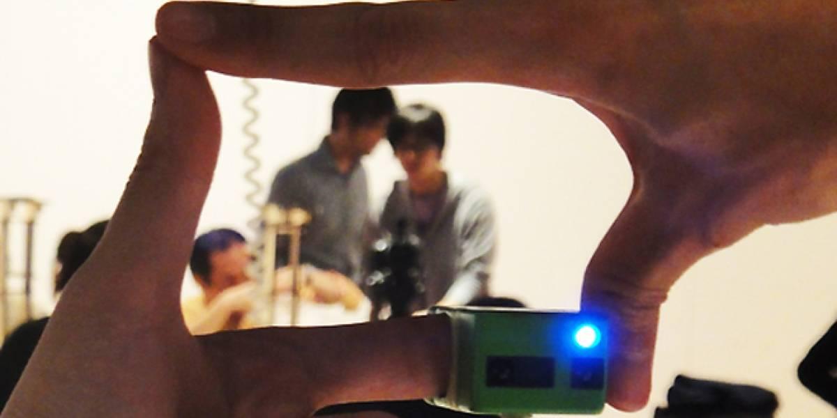 Encuadra con tus manos y toma fotos con esta Ubi-Camera