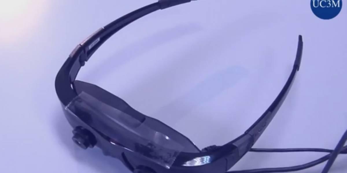 Diseñan gafas de realidad virtual que ayudan a personas con discapacidad visual