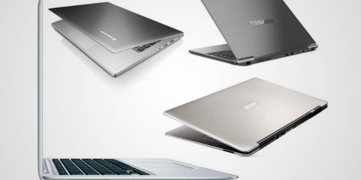 Este año Intel espera el lanzamiento de nada menos que ¡75 Ultrabooks!