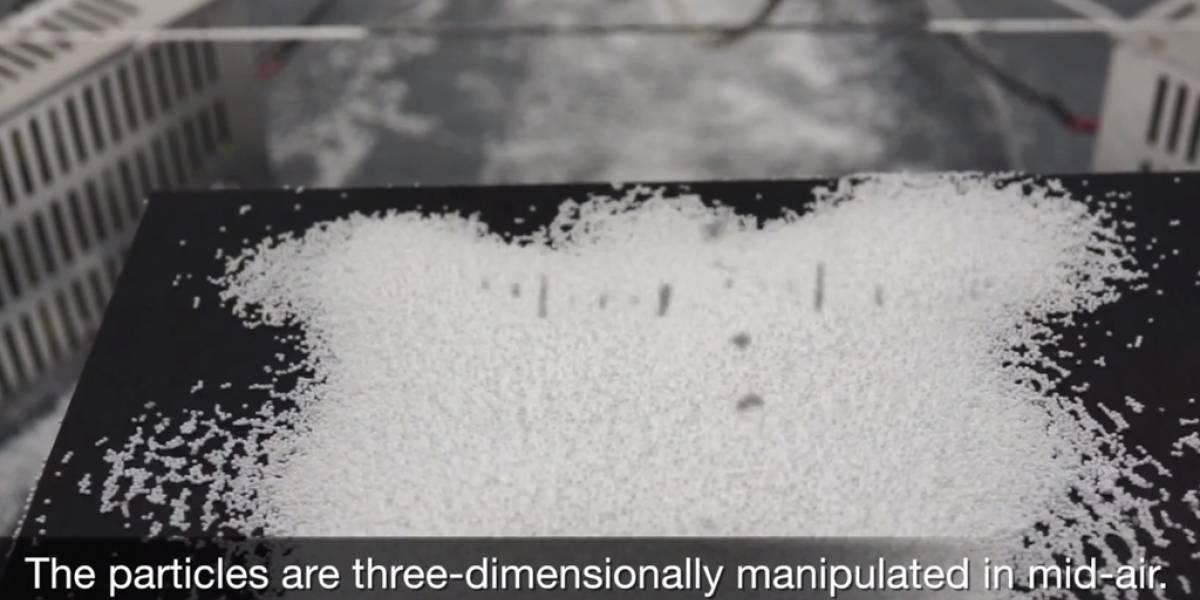 Científicos usan el sonido para hacer levitar objetos [Video]