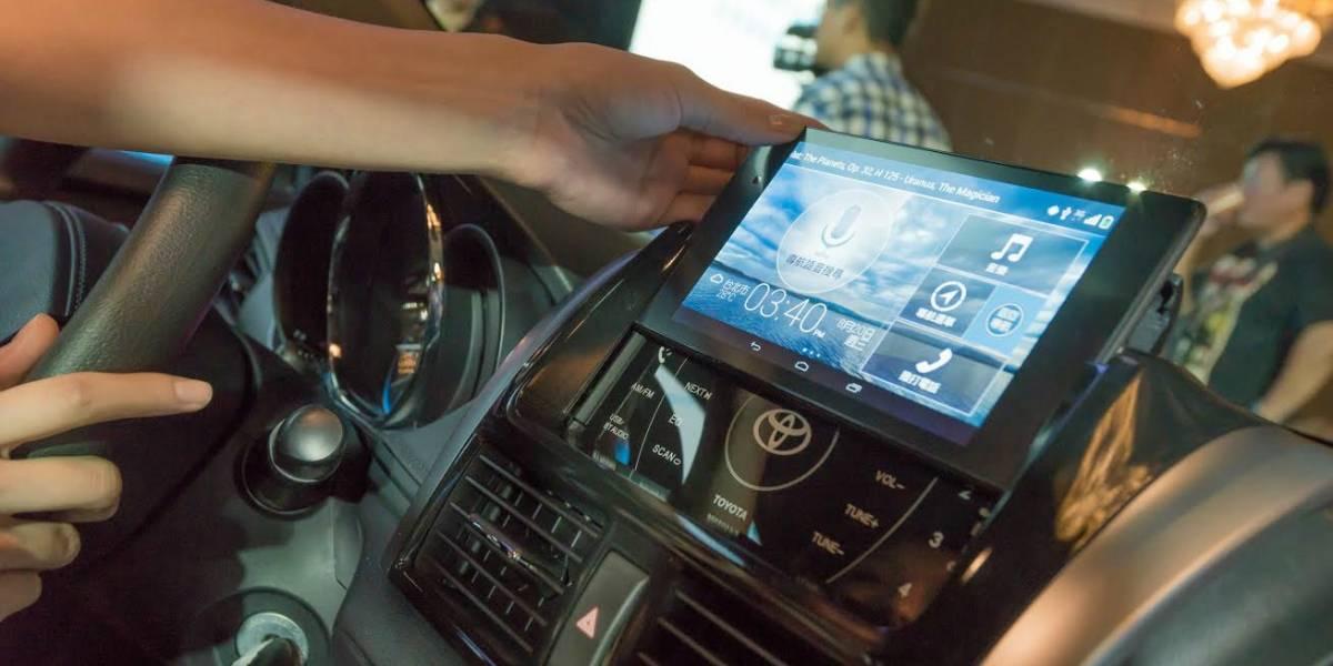 Automóviles Toyota vendrán con tablets Nexus 7 integrados en Taiwan