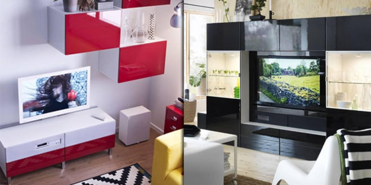 Uppleva, el mueble con Smart TV y sistema de sonido de IKEA ya se vende en España