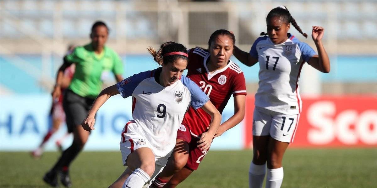 Tri femenil cae ante Estados Unidos en el premundial Sub-20