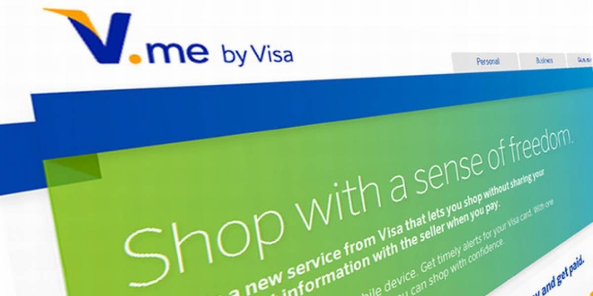 V.me es la alternativa de Visa a PayPal, se lanza hacia finales de año