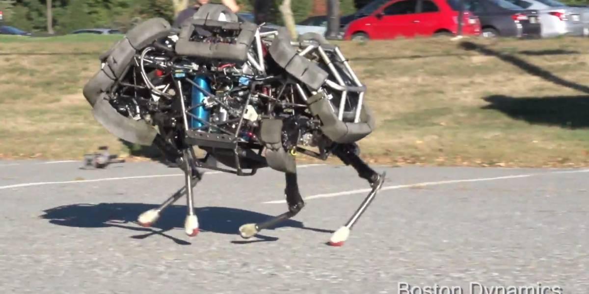 Boston Dynamics revela WildCat, su nuevo robot cuadrúpedo