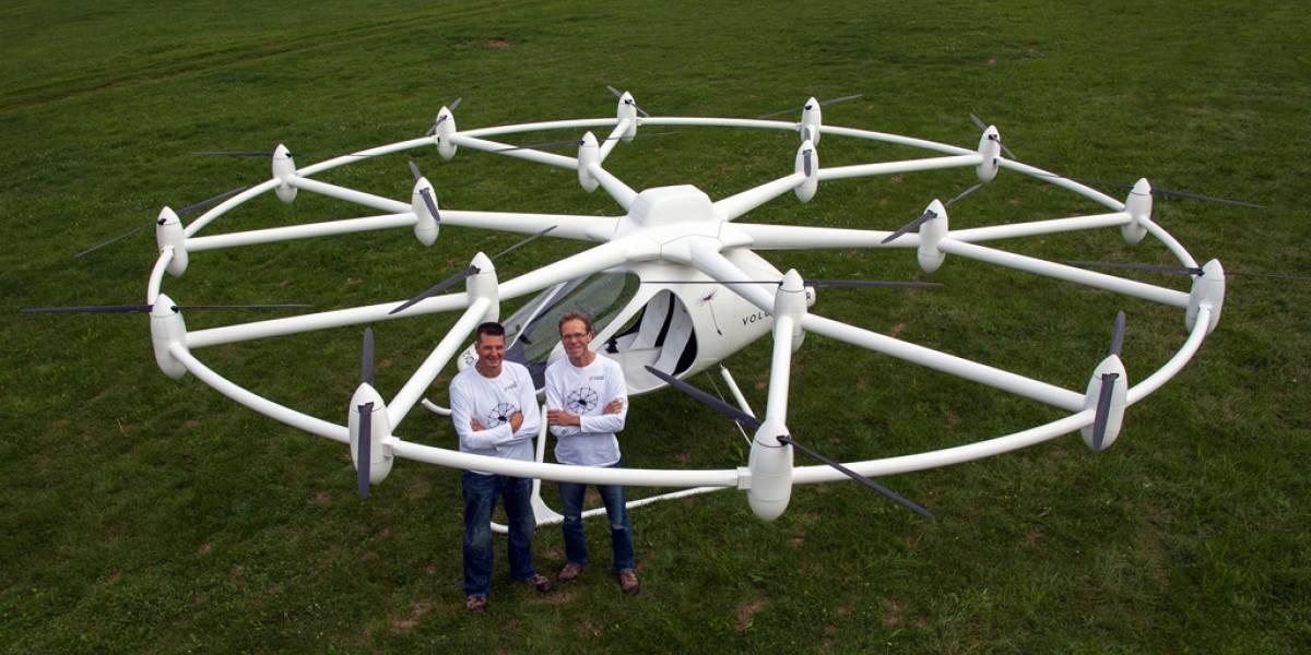 Helicóptero eléctrico para dos personas logra su primer vuelo exitoso