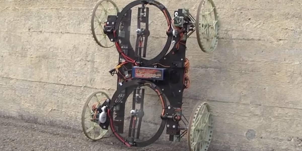 VertiGo, el robot de Disney que desafía la gravedad