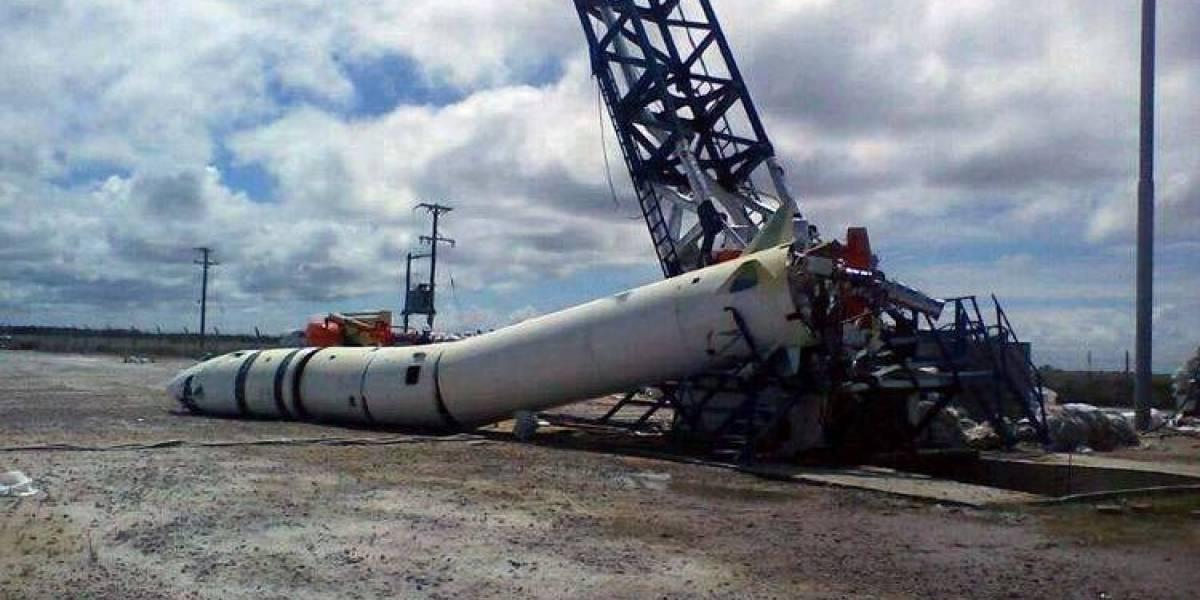 Primer despegue de cohete argentino no logra altura esperada