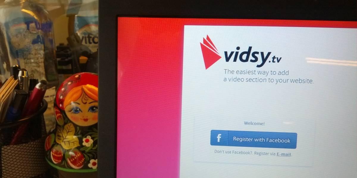 Vidsy.tv, una solución para insertar video en la web [FW Startups]
