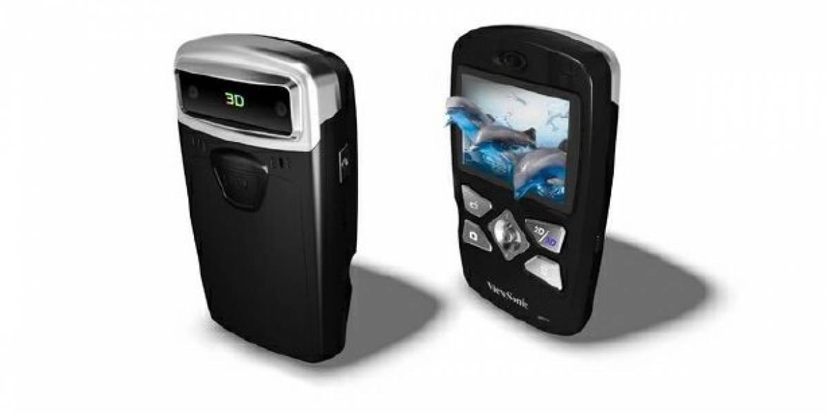 Viewsonic presenta su cámara portátil para grabar vídeos en 3D