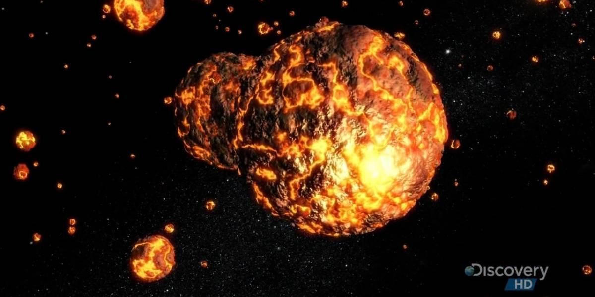 Meteoritos ayudan a entender la creación de la Luna