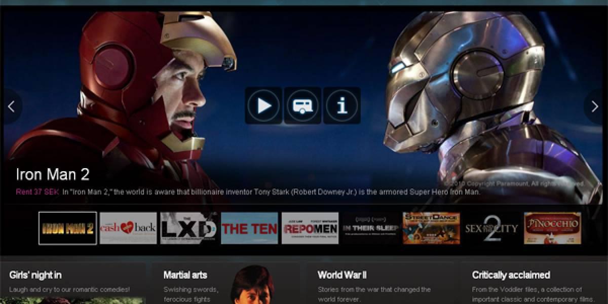Voddler ofrece cine gratuito, legal y de calidad en Internet
