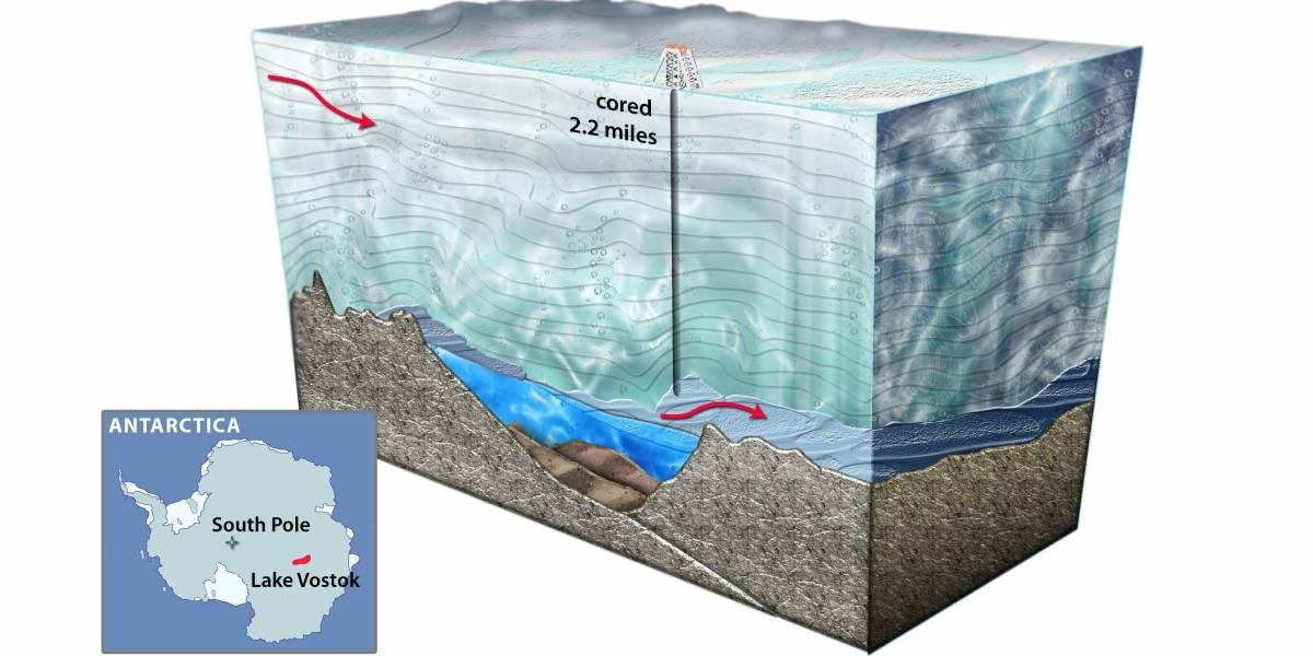Rusos aseguran que lograron extraer una muestra pura de agua del lago Vostok