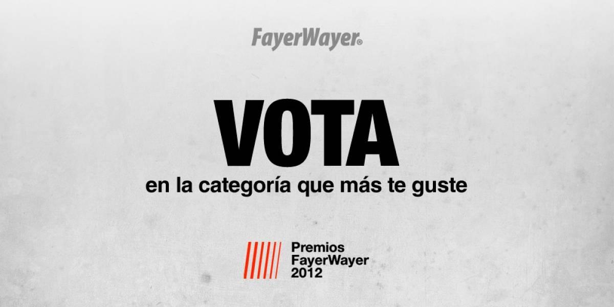 ¡No olvides nominar y votar por tus favoritos en los FW Awards!